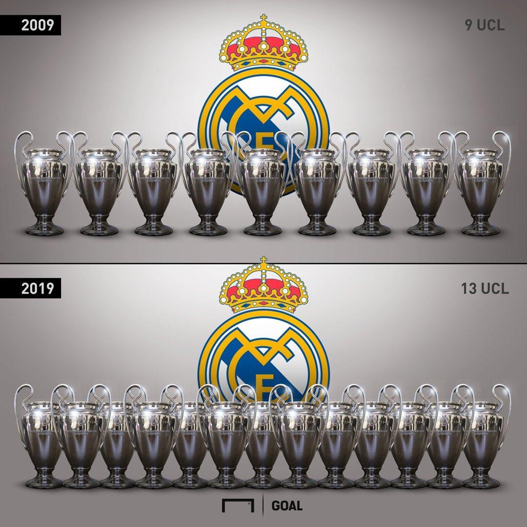 موقع Goal | ريال مدريد في التحدي #10YearsChallenge 🔥