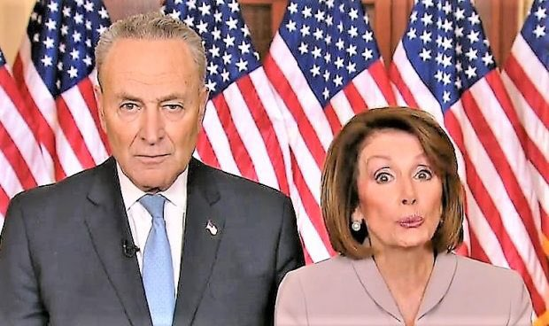 Does Nancy Pelosi not want another chance to respond to @realDonaldTrump? Surely her response can't be worse than last time. Did we buy the second podium yet Chuck?