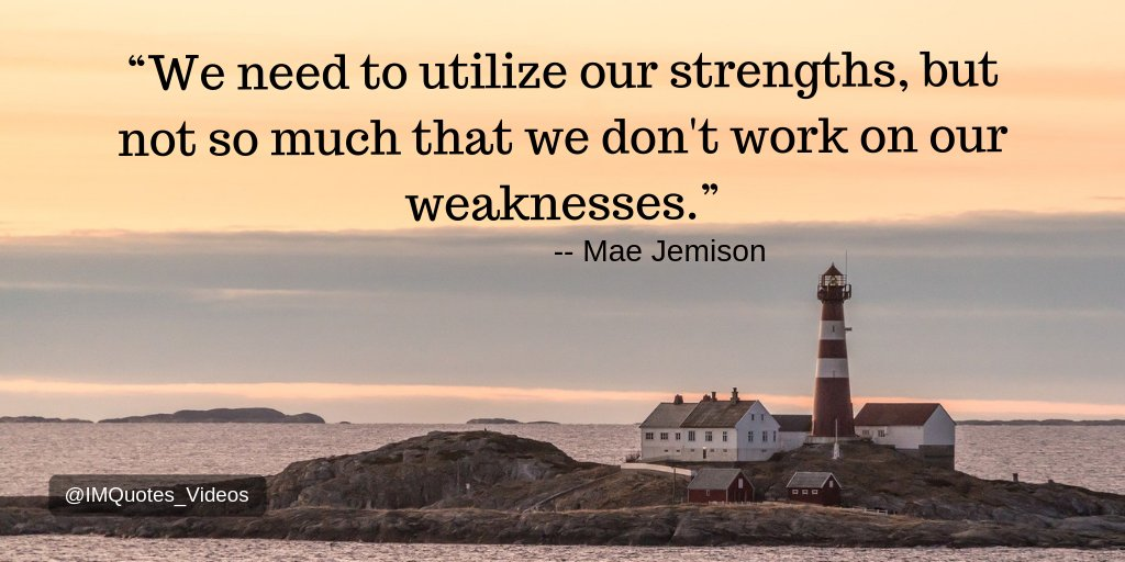 Always highlight and leverage your strengths, but do not forget to make continual efforts to improve upon your weaknesses.  #Motivation <br>http://pic.twitter.com/MymosVQK7P