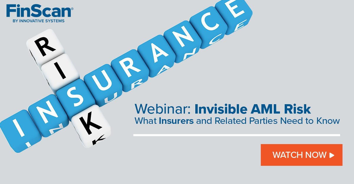 #Insurers: You're not immune from #regulatory #risks. Watch our #webinar to learn how to better identify, assess, & manage your #risk before it's too late. Watch now: http://bit.ly/2Qh3Y5z