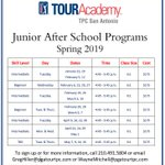 Image for the Tweet beginning: Registration for the Spring Junior
