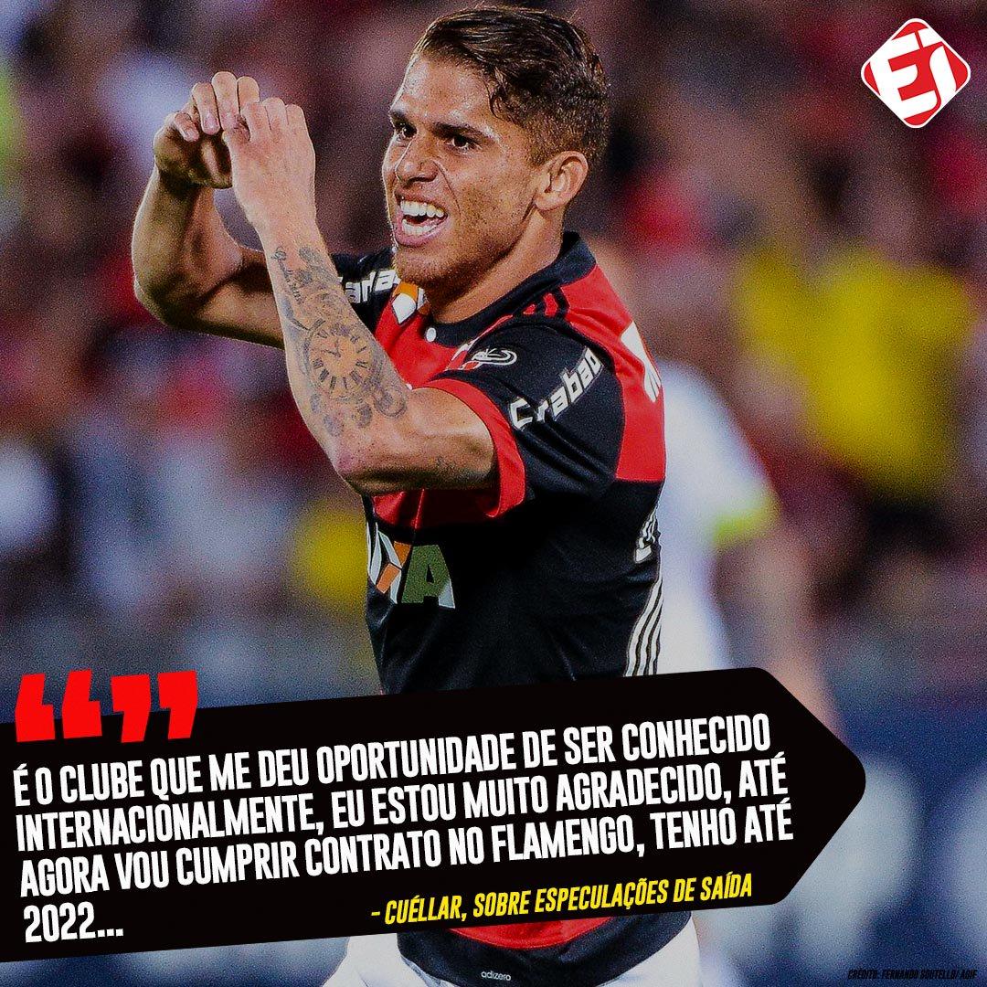O Ruivo tá focado no @Flamengo!👊