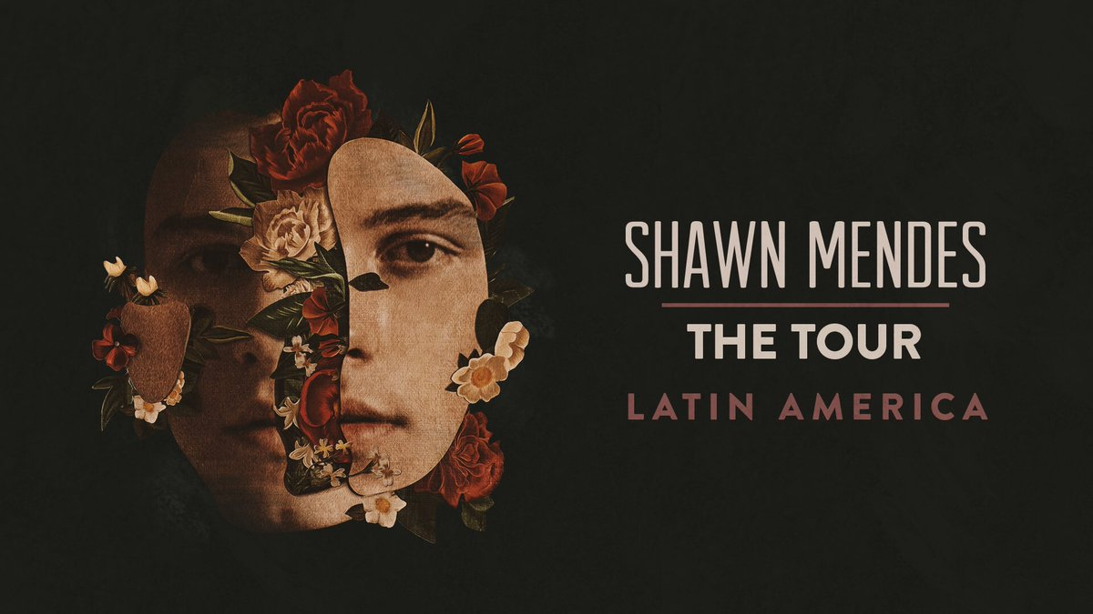 Just announced #ShawnMendesTheTour Latin America dates! So excited to finally come play these shows! Head here for dates & ticket info x https://t.co/qAZaGlclFv