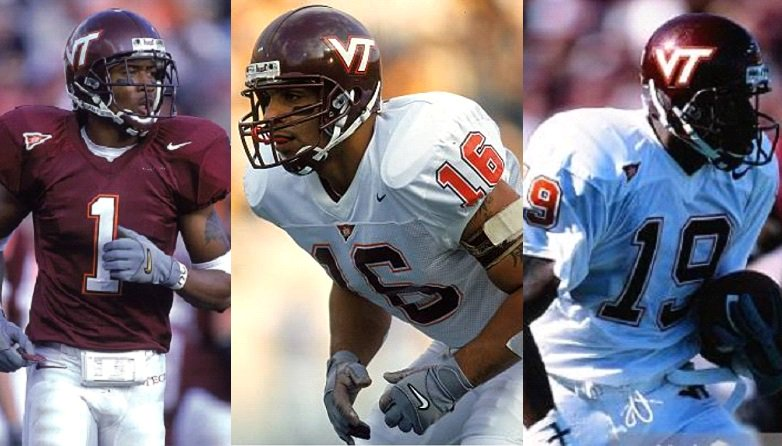 Today&#39;s #Hokies  date is:  Eric Green / Cory Bird / Ernest Wilford   #Legends<br>http://pic.twitter.com/022G5TmQnL