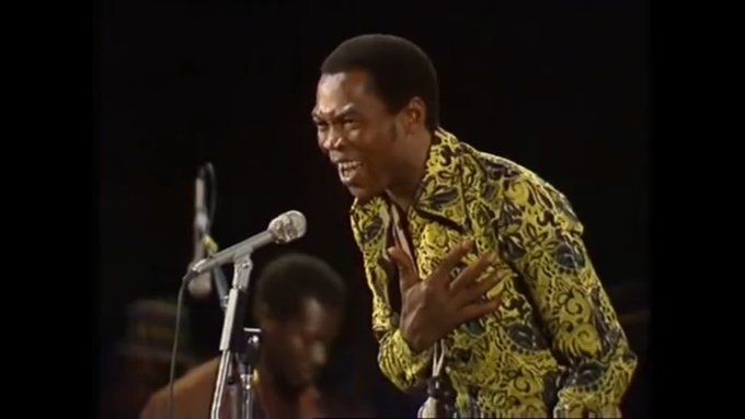 Fela Kuti&#39;s songs have been sampled by thousands of Artists including Jay-Z, Nas, Drake, J Cole, Kendrick, Missy Elliott, Wyclef, Wizkid, AKA. He inspired an unreleased album from Beyoncé according to The Dream.  Fela is one of the Biggest Influence on Artists in the world. <br>http://pic.twitter.com/e4nwXRz144