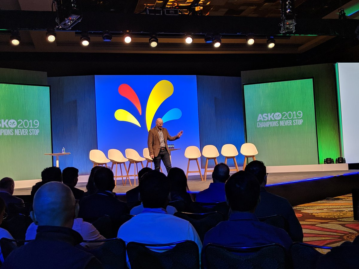 """""""the 10 million social mentions per day didn't even come close to what the Sprinklr platform could handle"""" Tyler Smith - Microsoft, ASKO 2019 Champion @Sprinklr #SprinklrLife #sprinklrchampion"""