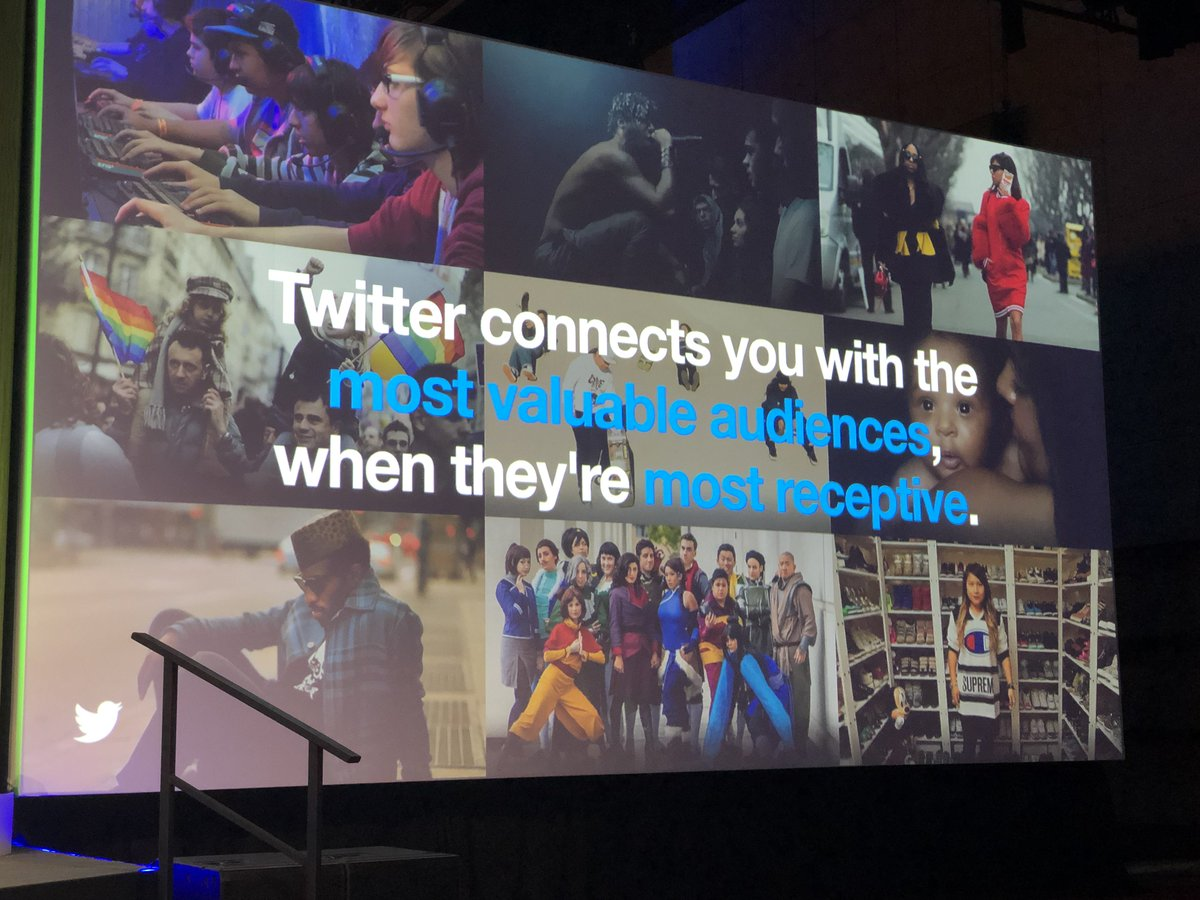 Twitter connects you with the most valuable audiences, when they are most receptive. @Twitter @Sprinklr #SprinklrLife