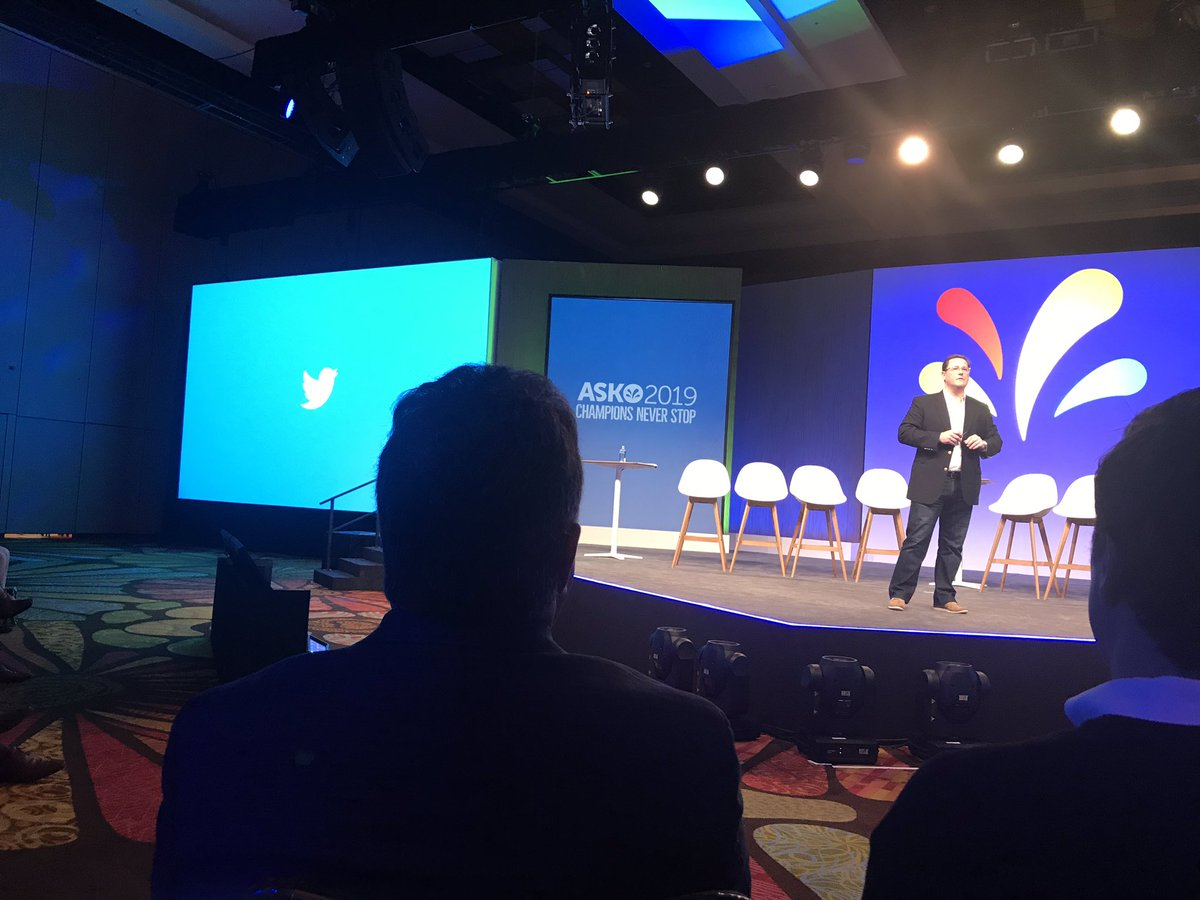 """""""Communities and conversations drive a culture forward through listening and engagement"""" Thank you @BoomerMurray Great inisghts on #DigitalTransformation. @sprinklr is proud to be @Twitter's partner. #SprinklrLife"""