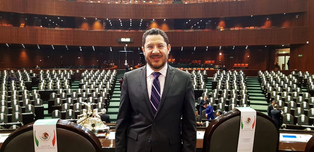 Ya estamos en San Lázaro para la Sesión de Congreso General. https://t.co/9RiTJmqhab