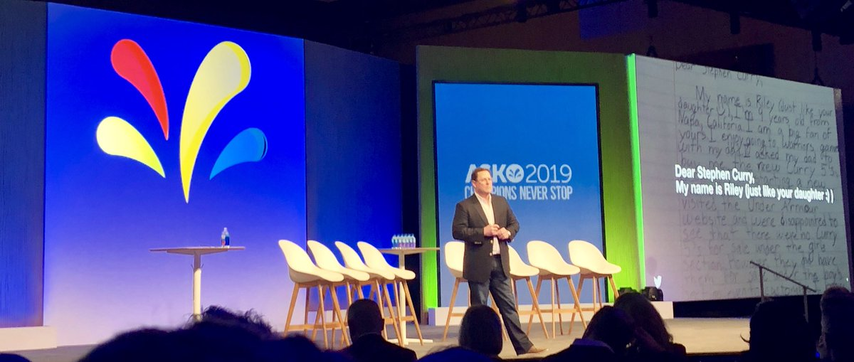 """Twitter, a place where everyone's voice can be heard! """"It's not @Twitter that makes this possible, it's the people..."""" -Tim Murray, Twitter   #ASKO2019 #Sprinklrlife #SprinklrChampion @Sprinklr – at Hyatt  Regency  Convetion  Center"""