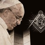 Image for the Tweet beginning: Freemasons Thank Francis for his