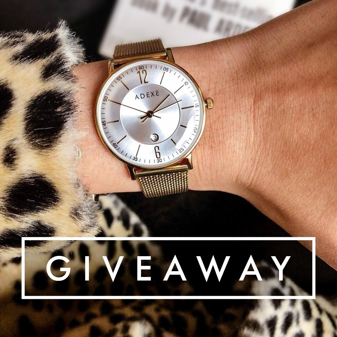 #GIVEAWAY  FOLLOW @ADEXE_Watch &amp; RETWEET for a chance to win a watch of your choice!  Ends January 23rd. Good luck!   #giveaways #GiveawayAlert #GiveAwayOfTheDay #freebies #CompetitionTime #Competition<br>http://pic.twitter.com/0dHQ1OVBOu