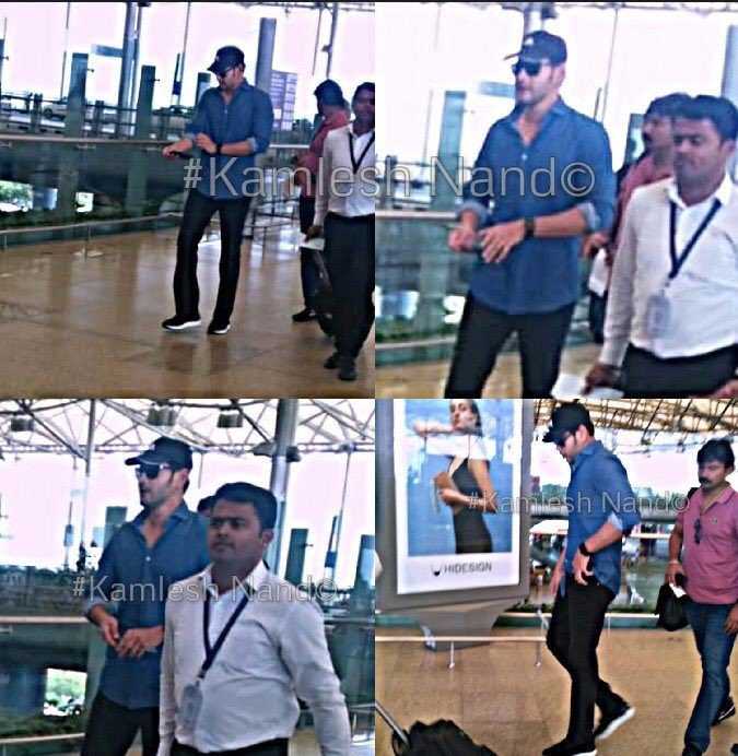 Superstar @urstrulymahesh Departs to Pollachi for #Maharshi shoot. <br>http://pic.twitter.com/Lzy7x5nMzM