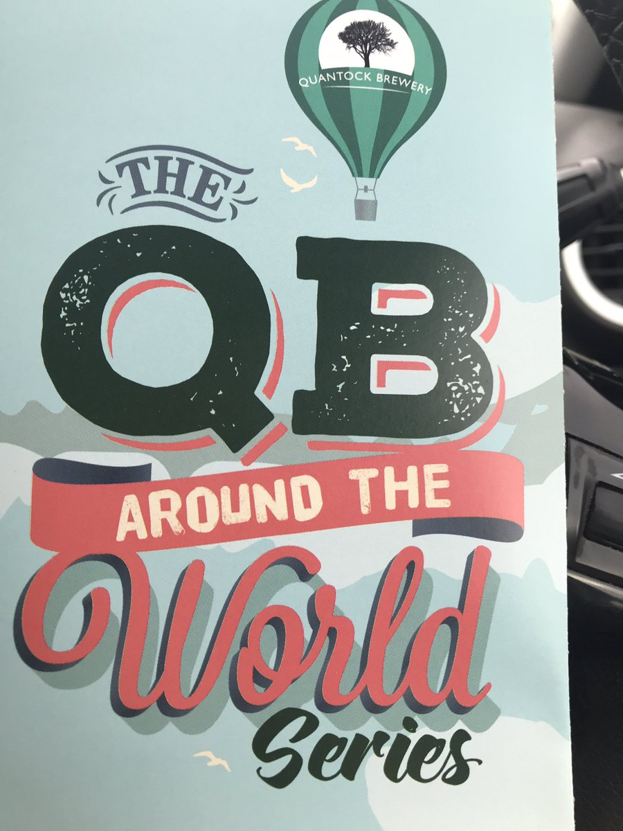 Getting great reviews and responses of our QBF (French hopped amber ale) the first of our Around The World Series. Even in Dry January it's great to see pubs stocking this unique beer! @QuantockBrewery @Tryanuary #AroundTheWorld #savethepubs <br>http://pic.twitter.com/SVWFOWpxRS