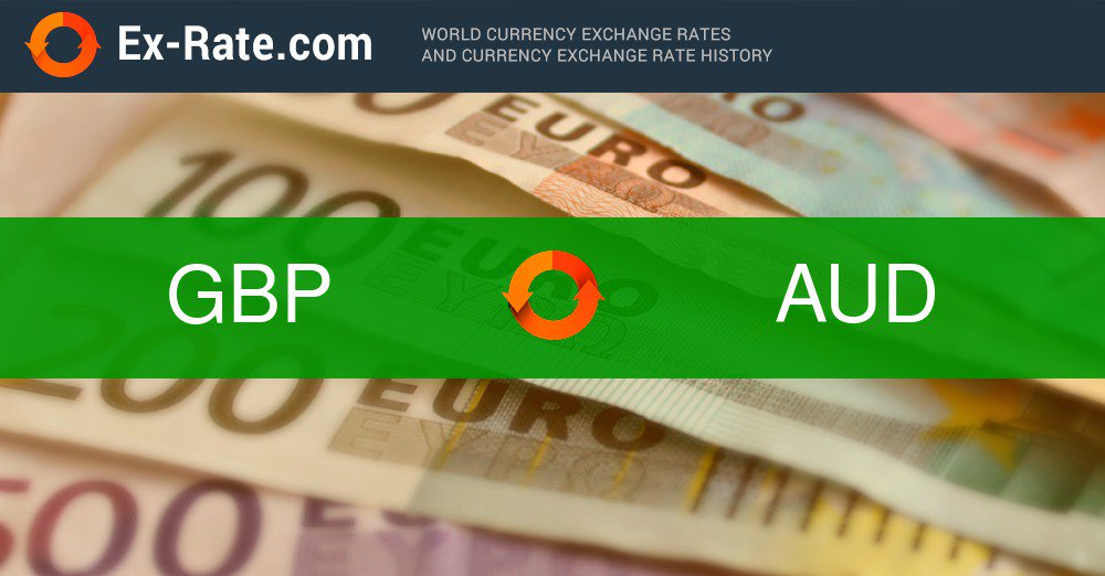 100 Pounds To Aud Exrate 1 78