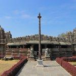 Image for the Tweet beginning: The Veeranarayana temple in #Belavadi