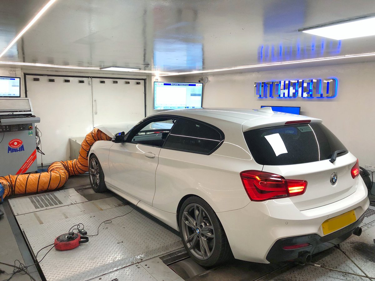 We have also been busy with @BMW M140i tuning 🙂 Handy given