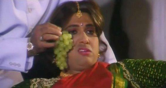 1998 : Grape Govinda 2018 : Sour Grape Govinda  #OkaySorry  #20yearchallege<br>http://pic.twitter.com/RpdnG6lXor
