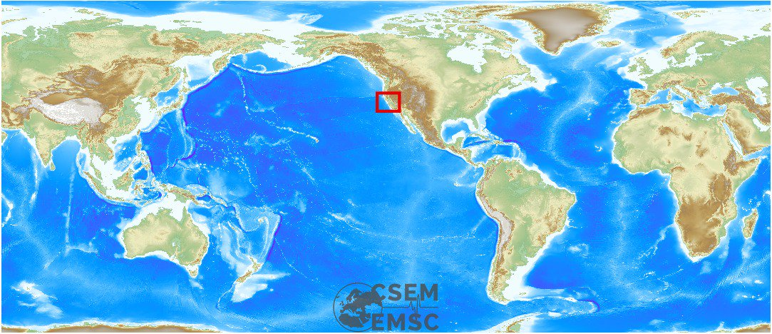 #Earthquake (#sismo) possibly felt 2 min ago in #California #United States. Felt it? See https://t.co/wPtMW5ND1t https://t.co/HPRJToq9qZ