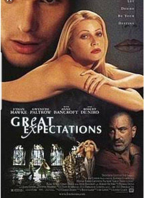 #heterodino @ricksupertramp ¡el soundtrack de great expectations es es hermoso! ( tori amos , Mono) 😍 Además la película es muy bonita en muchos sentidos, @MichSaimar debes verla ! Foto
