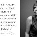 "Image for the Tweet beginning: ""#Littérature et discours de marque,"