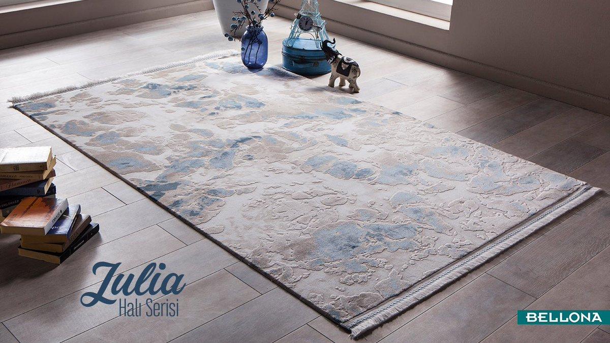 Julia serisi Therapist halılar, ona dokunduğunuz anda etkileşime geçen eşsiz mineral içeriğiyle kendinizi daha iyi hissetmenizi ve vücudunuzun rahatlamasını sağlıyor. 🕊️ http://bit.ly/JuliaSerisi #Bellona #HomeDecor #Decoration #Interior #Carpet #Rugs