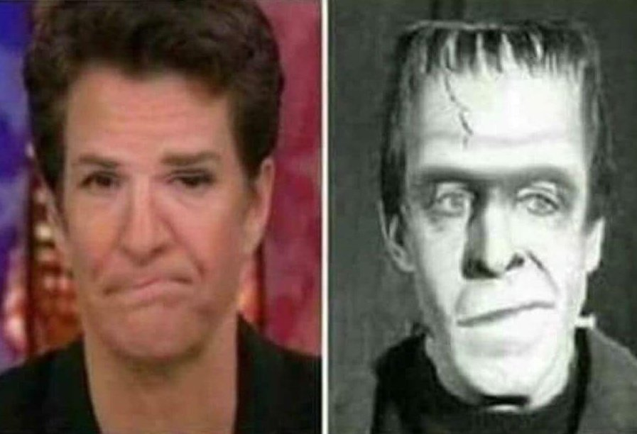 BREAKING:  Rachel @maddow reunited with long lost twin brother after being separated at birth.  Personally, I believe brother is better looking... #ThingsThatAreBadForYourHealth #MAGA #tcot #FoxNews  #WednesdayWisdom #wednesdaythoughts  #WednesdayMotivation #GoesBetterWithCoffee<br>http://pic.twitter.com/uWpINAYdEn