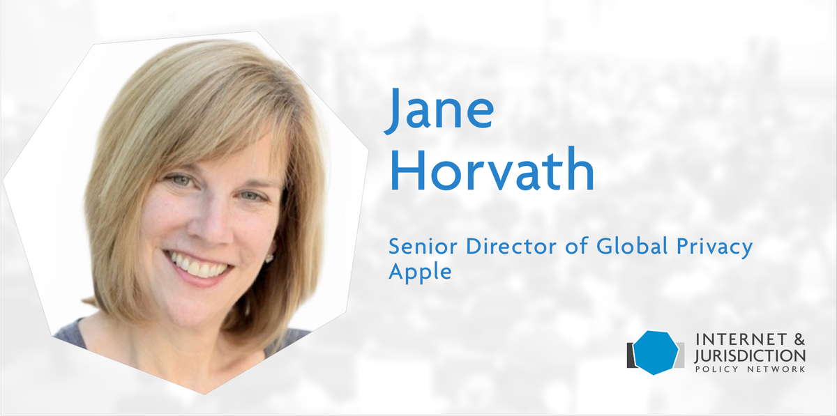 Jane Horvath Apple Senior Director