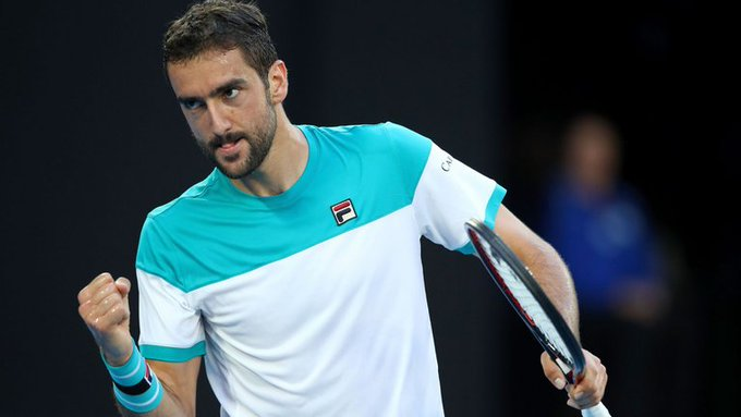 R3 matches from the bottom half of the #AusOpen draw (thread): Cilic (6) vs Verdasco (26) Bautista Agut (22) vs Khachanov (10) Tsitsipas (14) vs Basilashvili (19) Fritz vs Federer (3) Photo