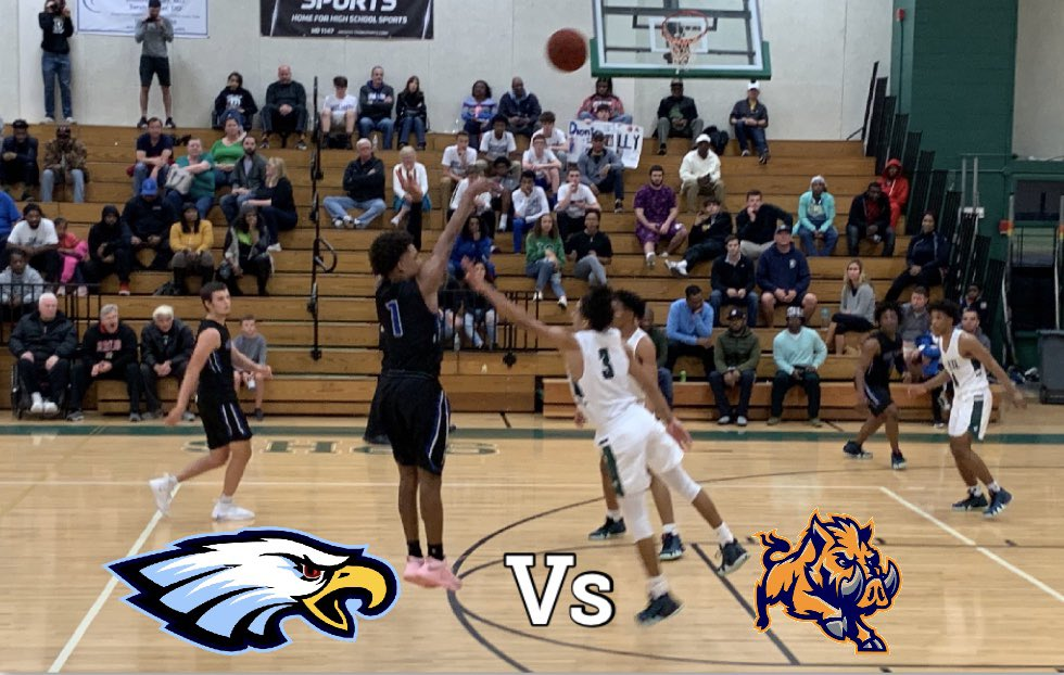 Game day ❕❗️❕  #ELBball looks to bounce back on the road tonight in a big PCAC North match up!  🆚 Largo HS ⌚️ JV 6:15pm, Varsity 7:45pm 📍 Largo HS  #GoEagles