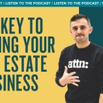 RT garyvee:Would love for you to listen to today's episode of the podcast -The Key to Growing Your Real Estate Business and Social Media https://t.co/v2zpMIsPpy