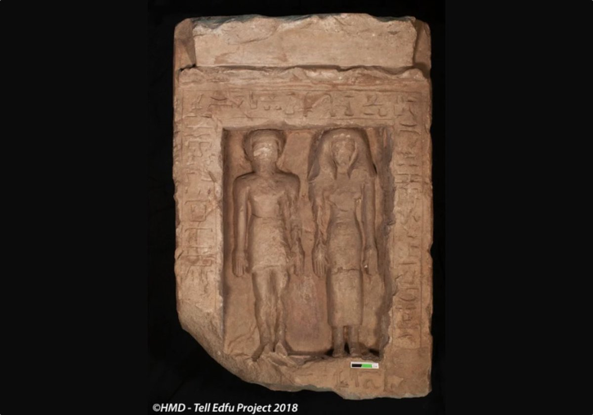 Damage to Ancient Carving of Egyptian Couple Was Meant to Hurt Them in the Afterlife https://goo.gl/EySFcy