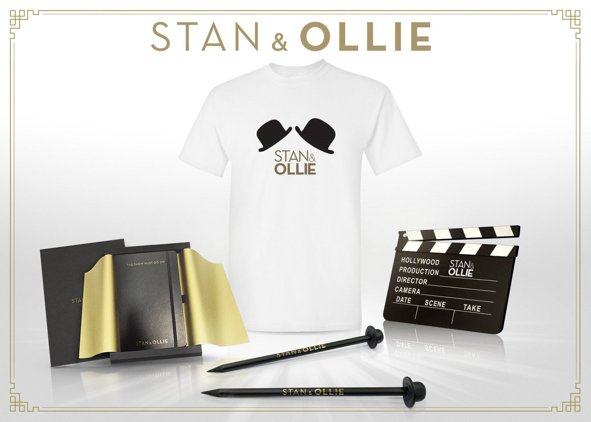 Ready for another #Competition?  Fancy winning an awesome #StanAndOllie merchandise bundle?  Simply Follow @TheArtsShelf, #RT this post AND #Tag a friend to enter!      Closes 23:59 on 25/01!  #CompetitionTime #Competitions #Win #Giveaway #merchandise<br>http://pic.twitter.com/x5jJrWs6AX