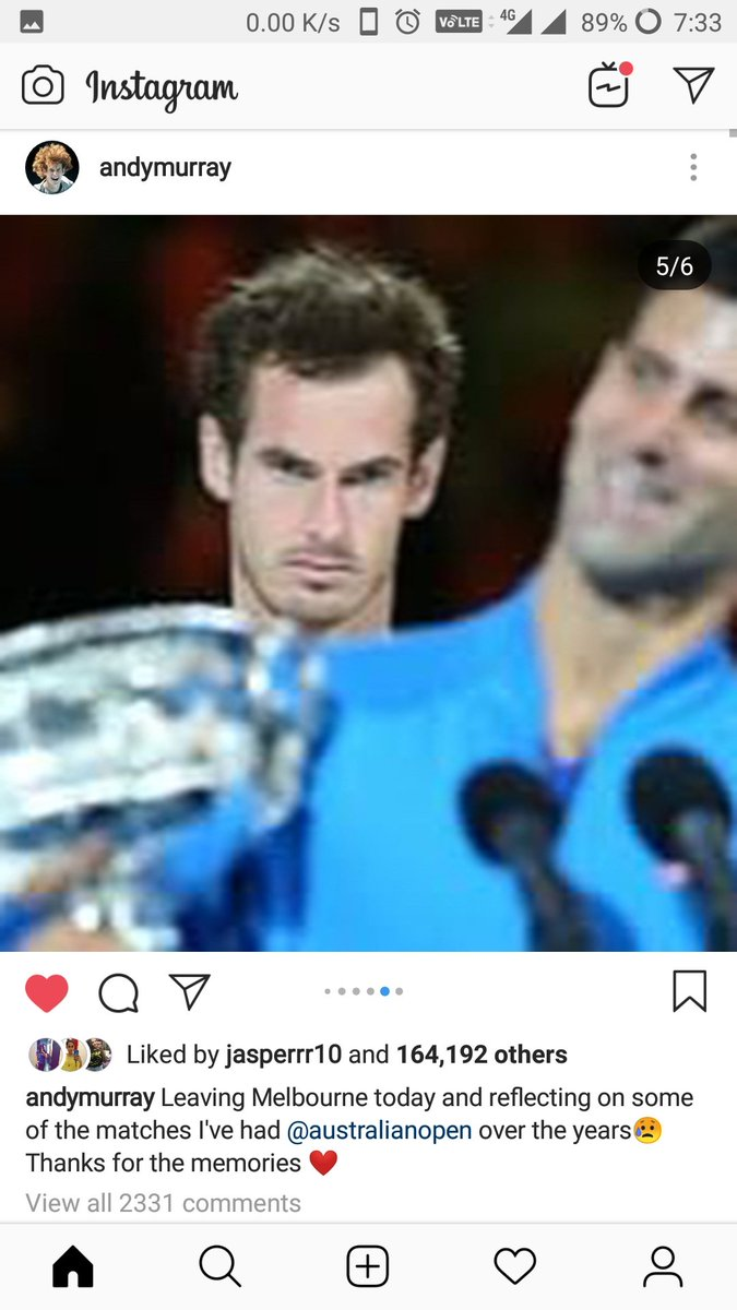 RT @fedology: Sir Andy Murray is a proper legend. https://t.co/UQDY392fwm