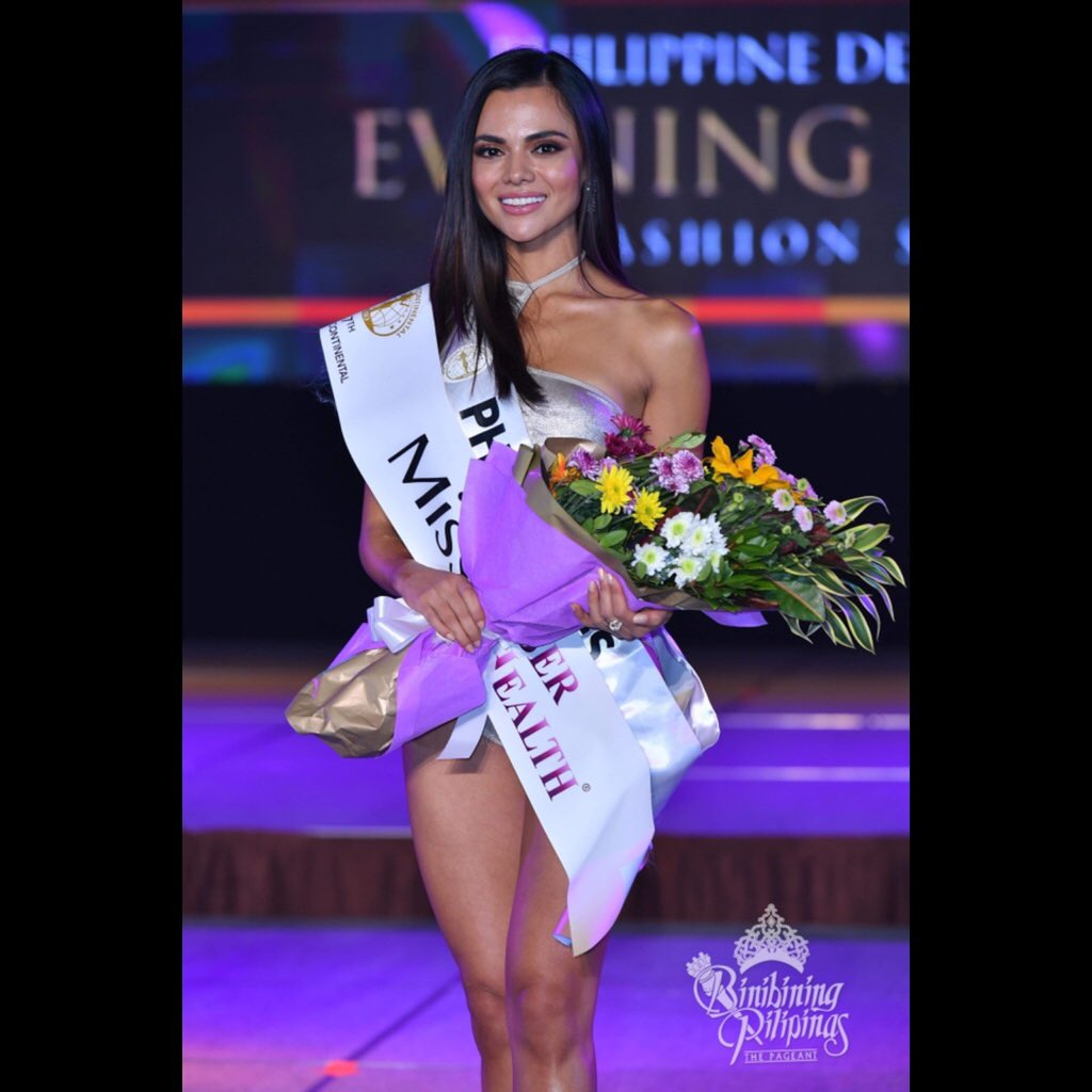 Congratulations  #Philippines Karen Gallman for winning the Body Beautiful Award! 🇵🇭   #BbPilipinas #MissIntercontinental #MIO #PowerOfBeauty   📸: Bruce Casanova