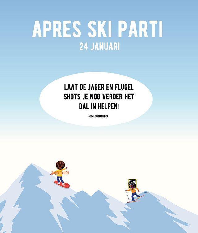 Speciaal voor alle thuisblijvers! Apres ski in  hartje Amsterdam. Tot volgende week!  #apres #ski #amsterdam #cafefest