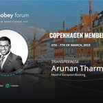 Image for the Tweet beginning: Mobey's Copenhagen member meeting 6-7