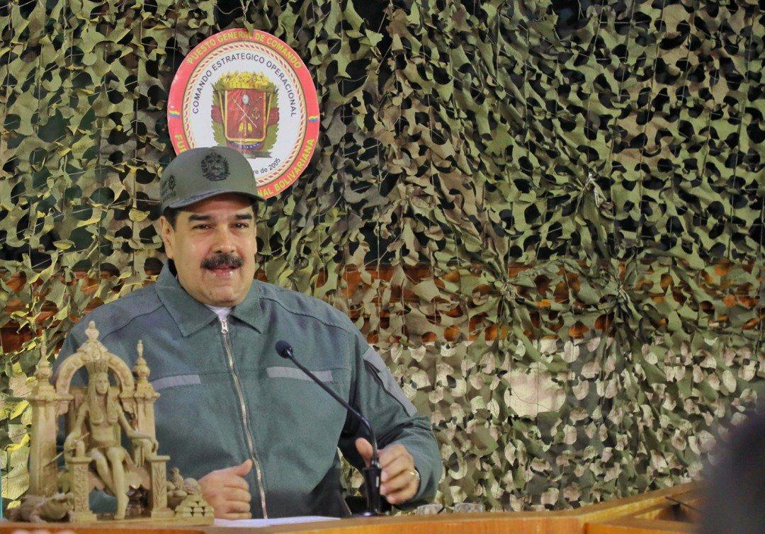 Nicolás Maduro's photo on simon