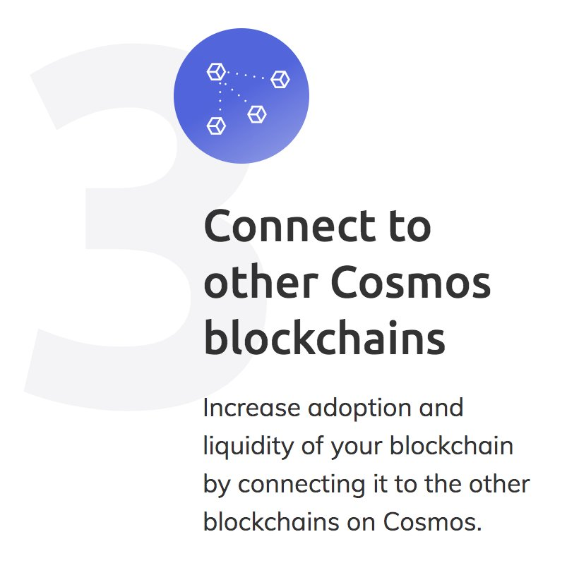 Cosmos - the Internet of Blockchains on Twitter: