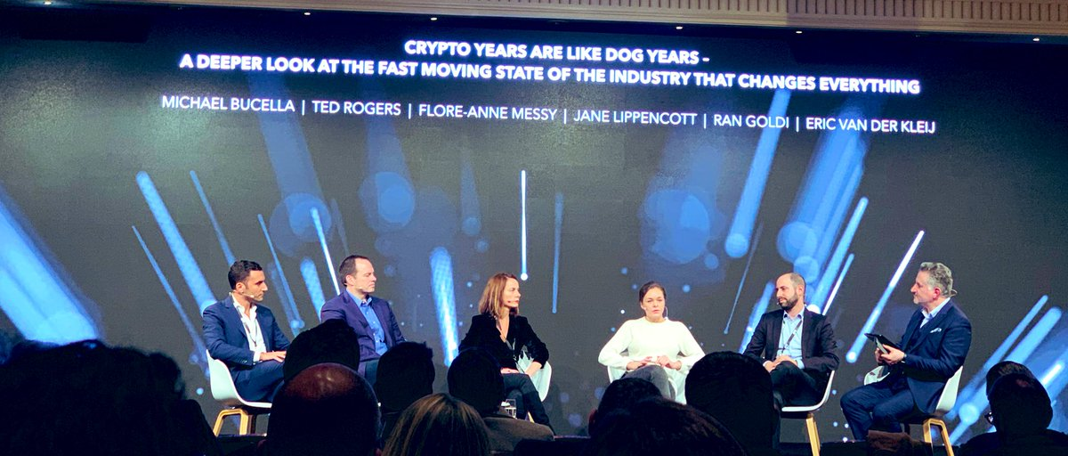 Our Strategist @francescoswiss is at the world's most exclusive investor conference on cryptocurrencies and blockchain @CryptoFinCon If you are around, do not hesitate to ping him to know more about the #LapoCoin and its crypto ecosystem 🚀 https://t.co/kuuMFm57Jz #CFCon19