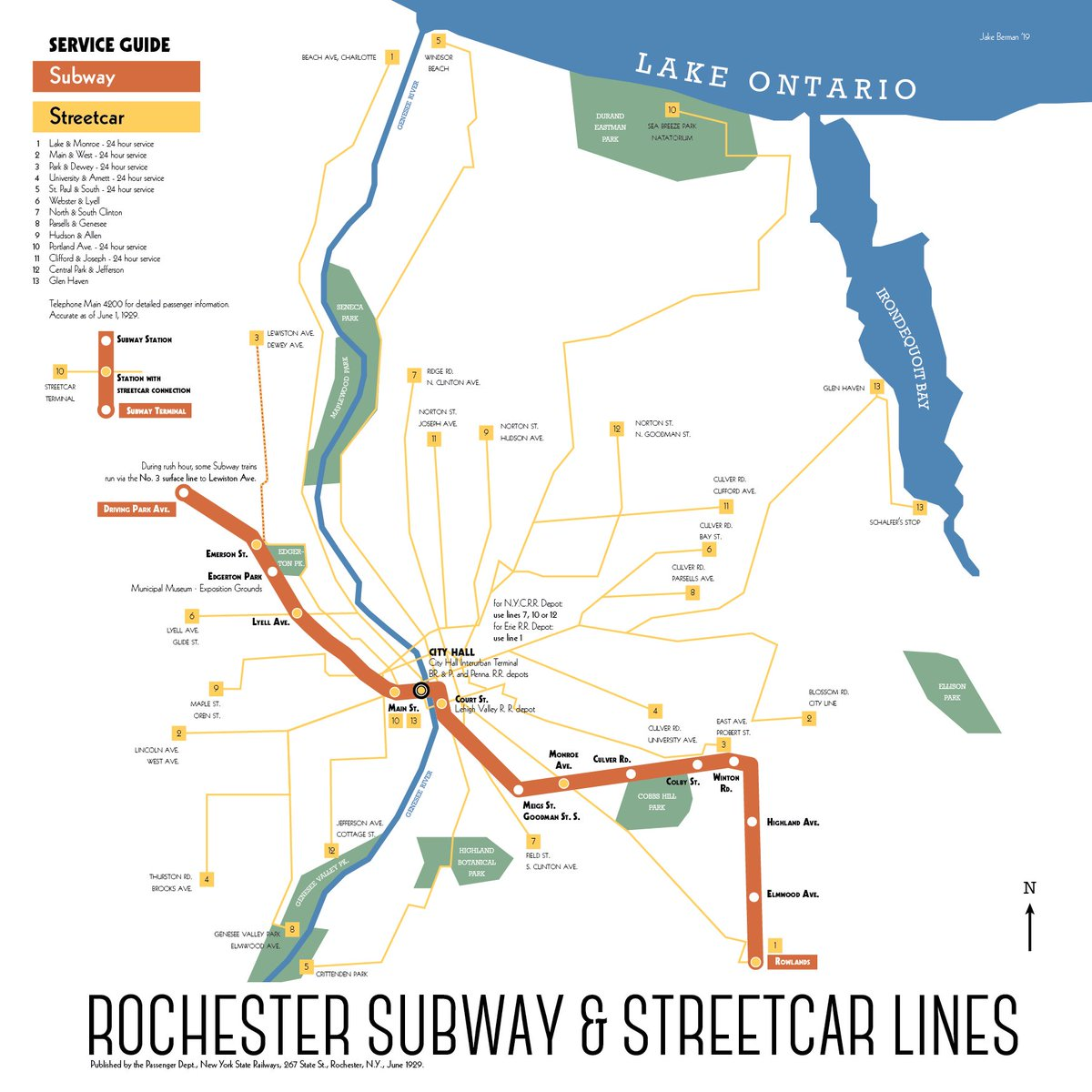 Rochester Abandoned Subway Map.Mapporn On Twitter Rochester New York S Abandoned Subway System