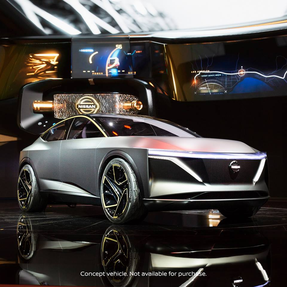 This is the future!  Nissan sets the bar high at the @NAIASDetroit with the Nissan IMs concept!  #NissanNAIAS #NAIAS #Nissan #ConceptCar https://t.co/9siSm0ewrB