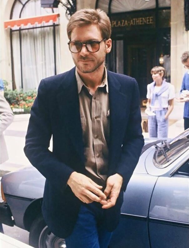 Cruising through #HumpDay in style - Harrison Ford in 1978 post- #HanSolo fame   #70s #HarrisonFord