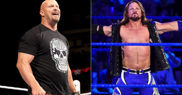 Video: AJ Styles does a Steve Austin impression after #SDLive #WWE Photo