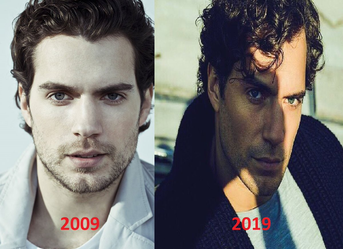 #10yearscallenge #HenryCavill 2009 x 2019