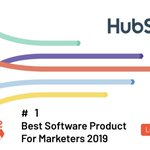 Our customers are the best! Thank you for naming HubSpot #9 on 2019 Top 100 Software Companies and #1 Best Product for Marketers by G2 Crowd #G2Awards https://t.co/94yvLRe7w2