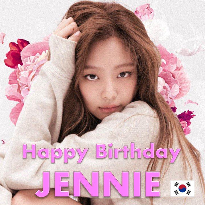 Happy 23rd Birthday to #BLACKPINK's very beautiful and talented #JENNIE! #HappyJennieDay!  ❤️🇰🇷🎶🎤🎂🎉🎁🎈💐🌟   https://t.co/7PnoBkfHIc