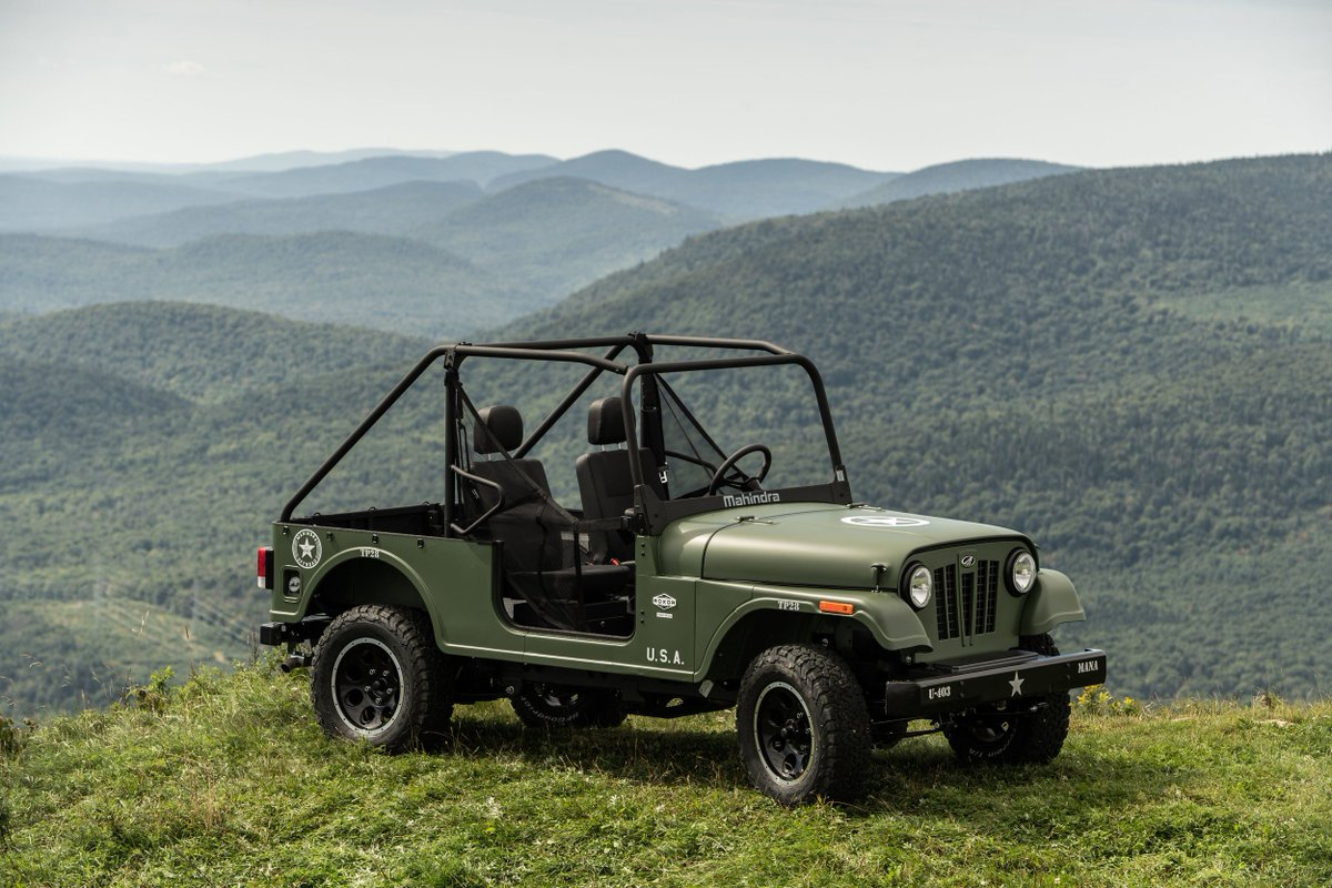 Mahindra is at @NAIASDetroit for first time, showing Roxor — and Roxbox: http://bit.ly/2RR1pMi #NAIAS