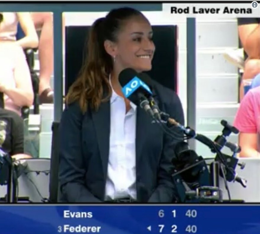 Try not to fall in love with this gorgeous Australian Open tennis chair umpire   https://www. barstoolsports.com/barstoolu/last -night-i-fell-in-love-with-a-hot-australian-open-tennis-chair-umpire &nbsp; … <br>http://pic.twitter.com/ioePRkPd6i