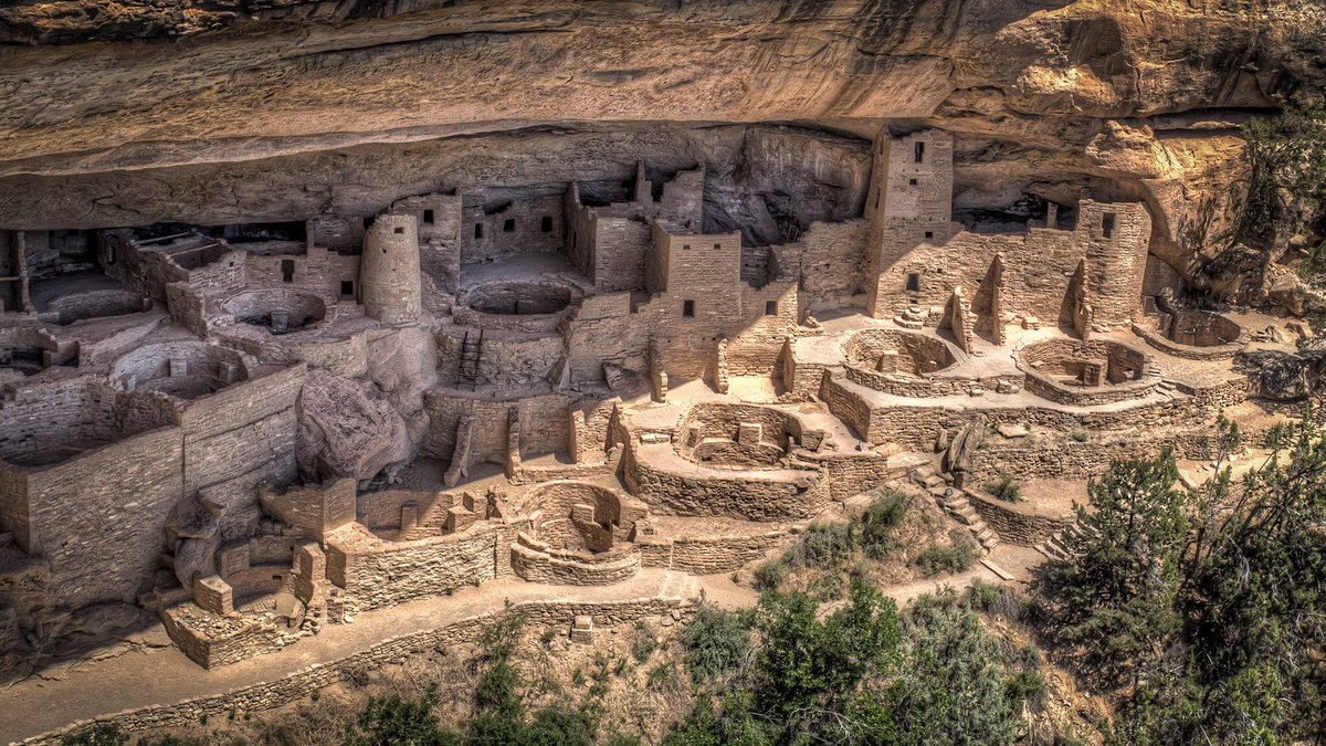 @MattsRoadTrip: As I emerged from the Escalante Wilderness, I headed south for for a visit to Mesa Verde National Park. This former home to the Ancenstral Pueblo people protects thousands of archeological sites, including 600 ancient cliff dwellings.